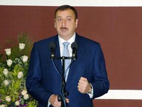 """Ильхам Алиев: """"Из - за оккупации Арменией территорий Азербайджана, мы не можем полностью уберечь наше историческое наследие"""""""