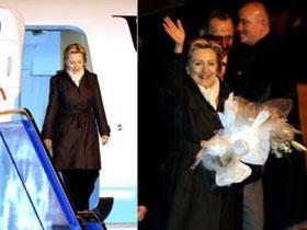 Хиллари Клинтон прибыла в Турцию