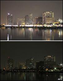 """""""Час Земли"""": в мире выключают свет на час [Фото]"""