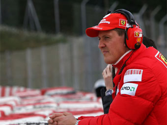 Шумахер попал в больницу после инцидента во Франции