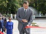 Президент Азербайджана посетил Гусарский район