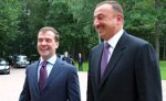 Дмитрий Медведев поздравил Ильхама Алиева с днем рождения