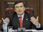 Михаил Саакашвили ударил премьер-министра Грузии и бросил в него телефон