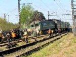 Поезд Грузия-Гянджа перевернулся на станции Ковляр Товузского района