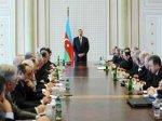 Под председательством президента Азербайджана состоялось заседание Кабинета ...
