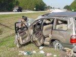 ДТП на дороге Баку - Газах. Один человек погиб, трое получили травмы