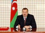 Президент Ильхам Алиев поздравил Азербайджанский народ по случаю праздни ...