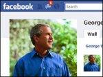 Джордж Буш открыл страницу на Facebook