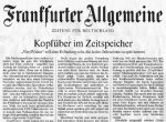 Газета Frankfurter Allgemeine Zeitung впервые вышла с цветной фотографией на передовице